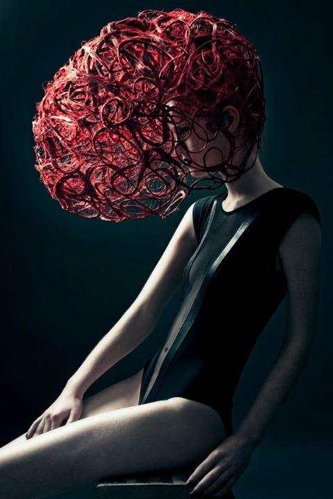 Harrisburg Fashion Week 2014 / hair cage / #MIZUstyle