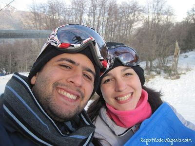 Registro de Viagens: Bariloche: Fazendo Esquibunda em Piedras Blancas!