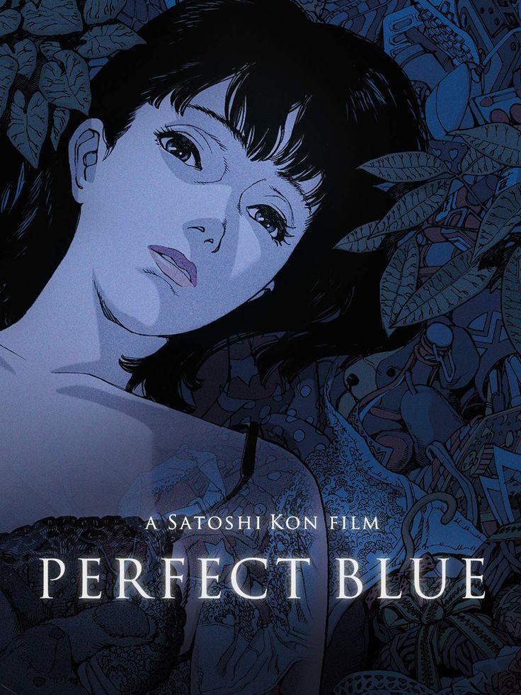 Perfect Blue Poster Blue poster, Satoshi kon, Blue