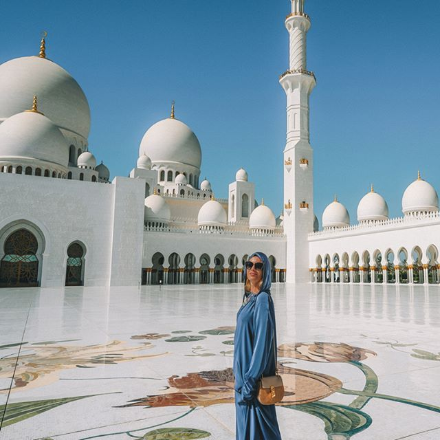 What A Wonderful World Sheikh Zayed Grand Mosque In Abu Dhabi