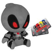 Mopeez Marvel X-Force Deadpool Figure Even superheroes have bad days! Funko presents Marvel Mopeez, a new plush line with attitude. These four and a half-inch plush figures are weighted on the bottom to retain a slouchy posture and adorab http://www.MightGet.com/march-2017-1/mopeez-marvel-x-force-deadpool-figure.asp