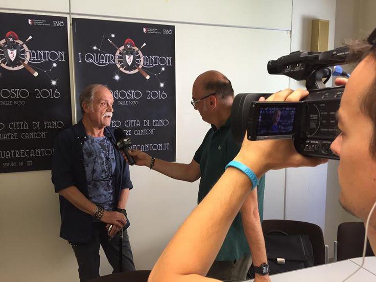 """Claudio Pacifici, il nuovo direttore artistico dell'evento, ci ha raccontato qualche dettaglio della nuova edizione de """"I Quatre Canton"""" (i quattro cantoni), tradizionale festa popolare fanese completamente rinnovata .  #iquatrecanton   #Fano   #iquattrocantoni   #zarricomunicazione"""