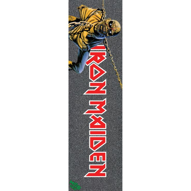 "Mob Iron Maiden Piece of Mind 9"" x 33"" Skateboard Grip Tape"