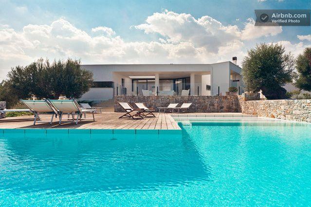 villa con piscina in Puglia in Polignano A Mare