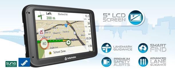 Navman Car GPS Navigator - MOVE-EZY Series - MOVE50 - Banner