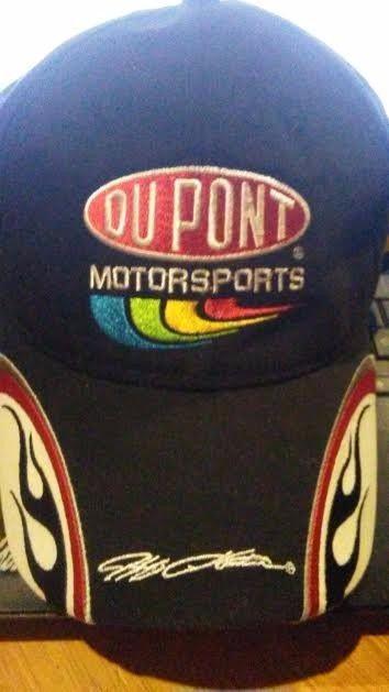 Jeff Gordon Autographed 24 DuPont Hendrick Motorsports Flames Nascar Hat #ChaseAuthentics #BaseballCap