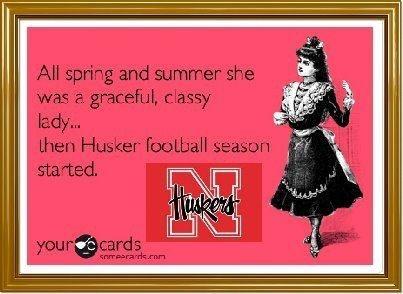 ...then Husker football season started...