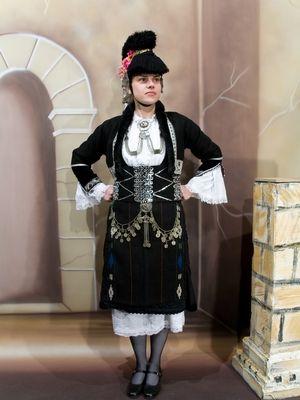 #traditional #macedonian #dress - #costume of #greece