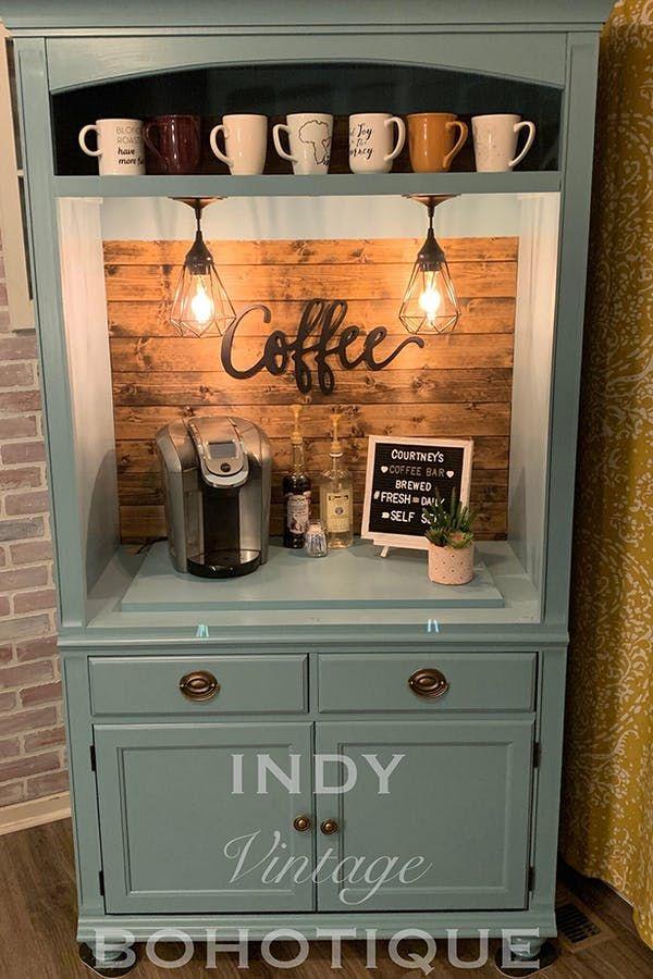 31+ Farmhouse coffee bar hutch model