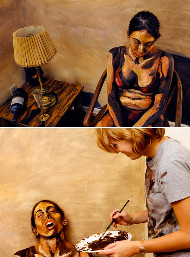 Painted People by Alexa Meade
