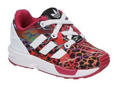 ... adidas zx flux el i multi color baby sneakers sooco  sc 1 st  popintinc.com & zx flux light pink vinyl