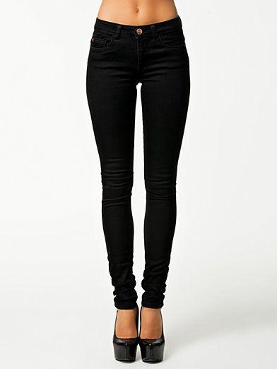 Skinny Reg. Soft Ultimate Jeans - Only - Svart - Jeans - Klær - Kvinne - Nelly.com
