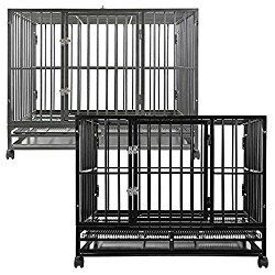 SmithBuilt Heavy Duty Steel Dog Crate Review & Buyer's Guide