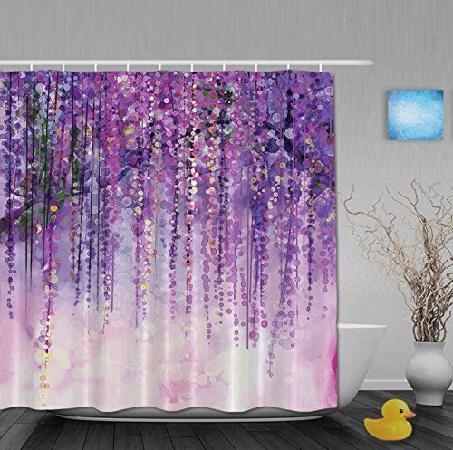 17 Best Ideas About Purple Shower Curtains On Pinterest