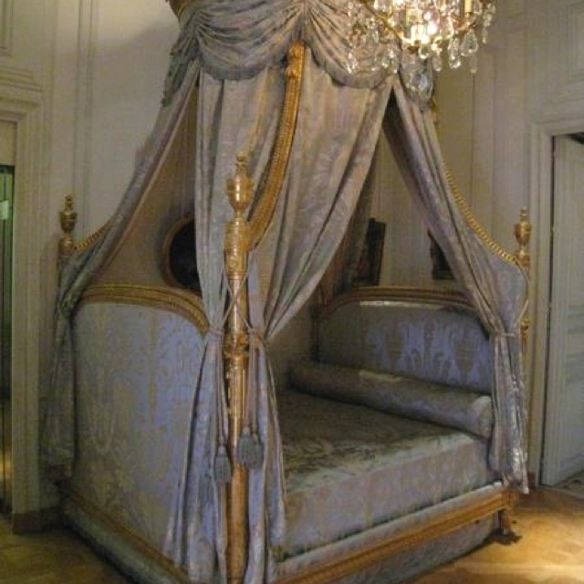 This Is A Polish Bed From The 13th Century At The Chateau