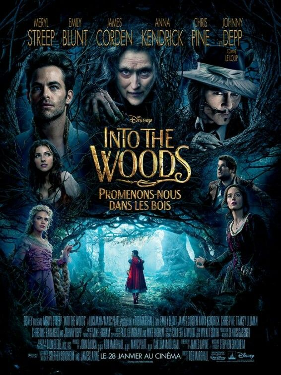 This enchanting film stars Anna Kendrick, Meryl Streep, Chris Pine, and many more, including Johnny Depp as the Big Bad Wolf (we'll get to his part later!). Based on the musical Broadway production by the same title, it is full of singing and fantastical characters, making this movie utterly delightful and charming. Speaking of charming, nothing could be farther from the truth when it comes to our normally beloved Prince Charming, who, in this depiction, though handsome in deed and…