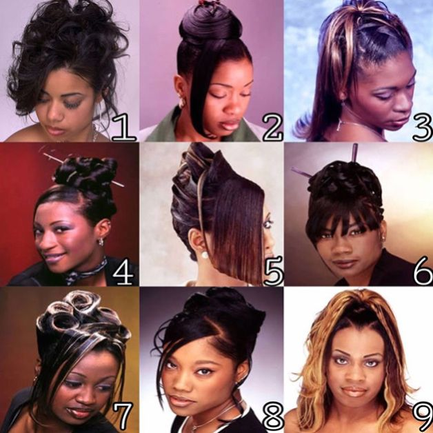 90s Early 00s Women Hairstyles Repost Thatgirlw Theoldsoul 90s Hairstyles Vintage Hairstyles Black Hair 90s