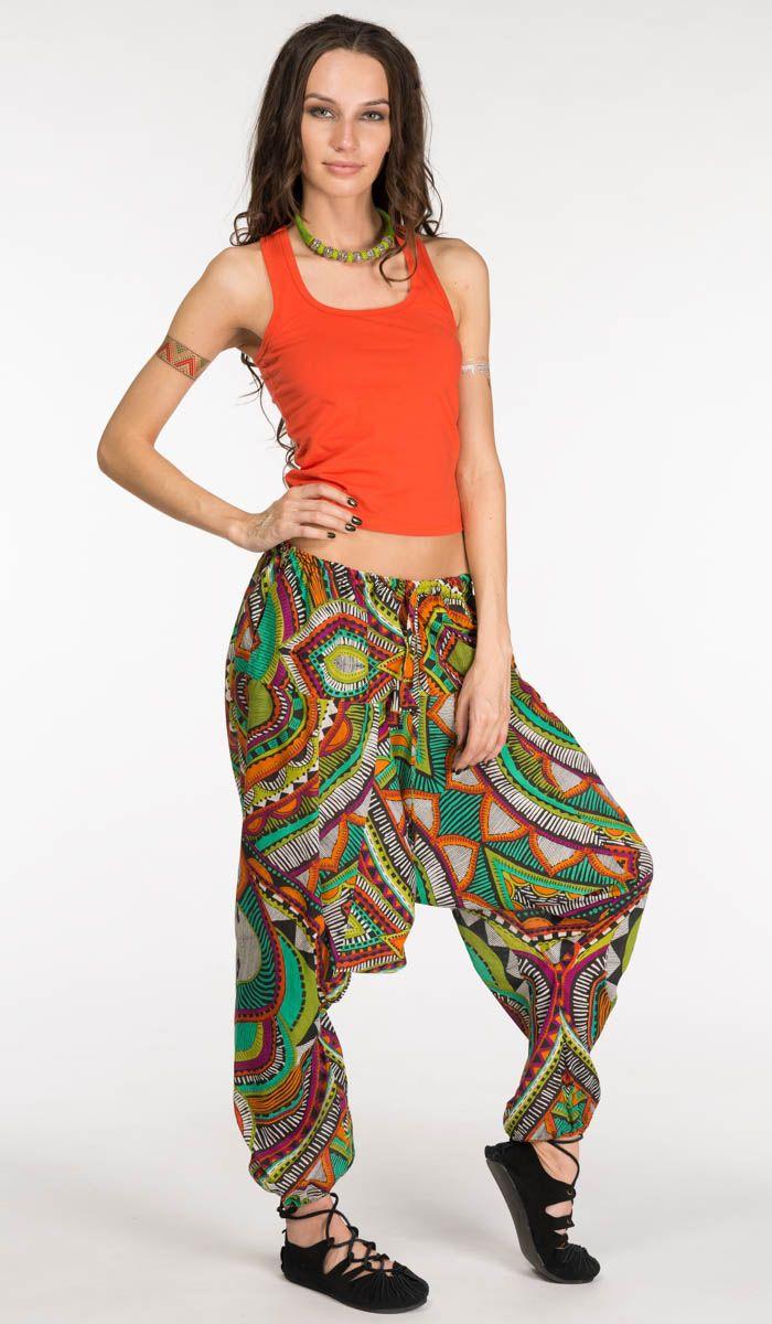 http://indiastyle.ru/products/shtany-pestrye-uzory Пестрые штаны в восточном стиле, штаны с мотней, штаны алладины Alladin pants 1210 рублей