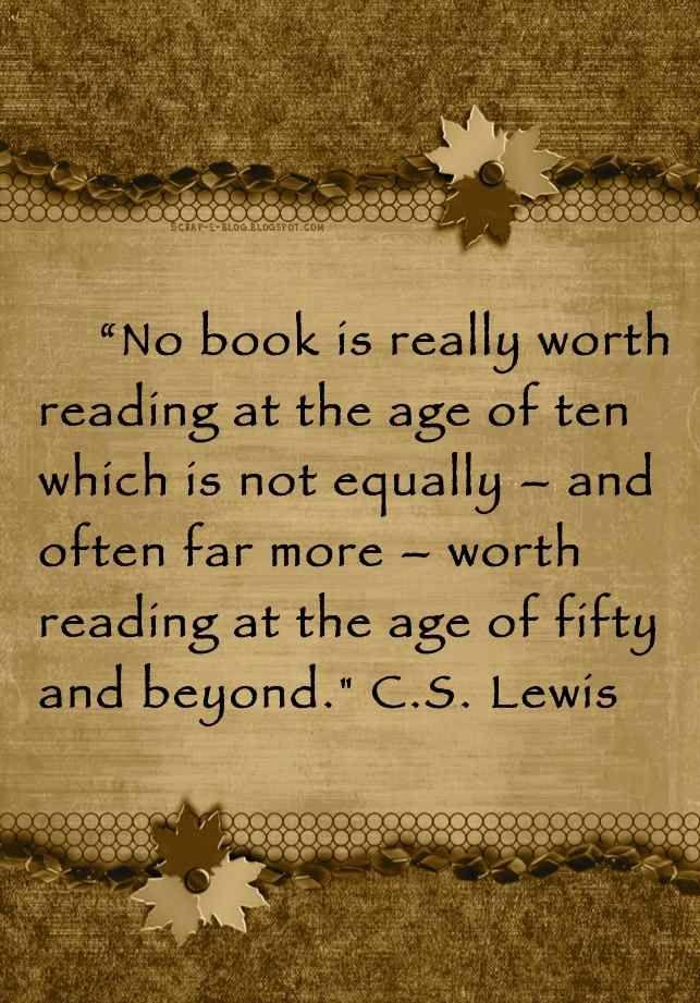 Read them again.