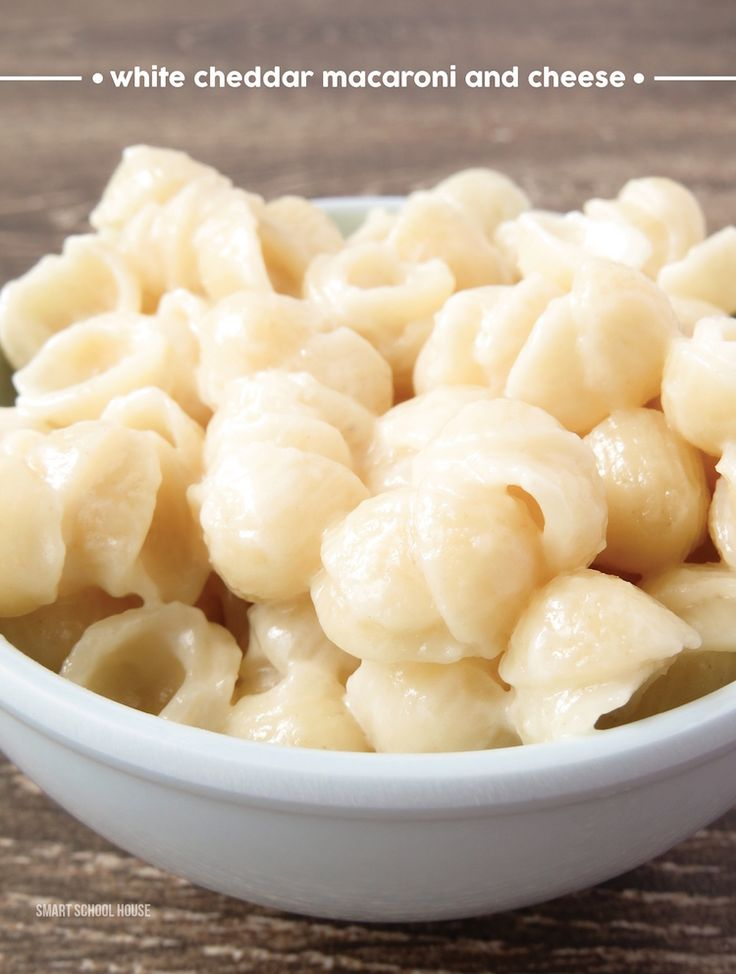 White Cheddar Macaroni And Cheese Recipe: Classic White Cheddar Cheese Macaroni