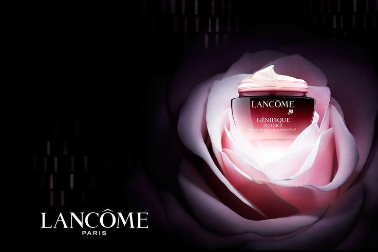 Lancome advertising