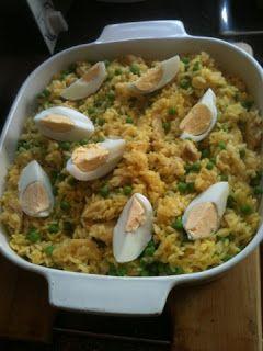 Kedgeree (Slimming world friendly). Uk dinner recipe