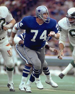 "#74 BOB LILLY ""Mr. Cowboy"" Dallas Cowboys Defensive Tackle 1961-1974-- Born in Olney, TX; Played College Football at TCU and Anchored the Dallas Cowboys ""Doomsday Defense""!"
