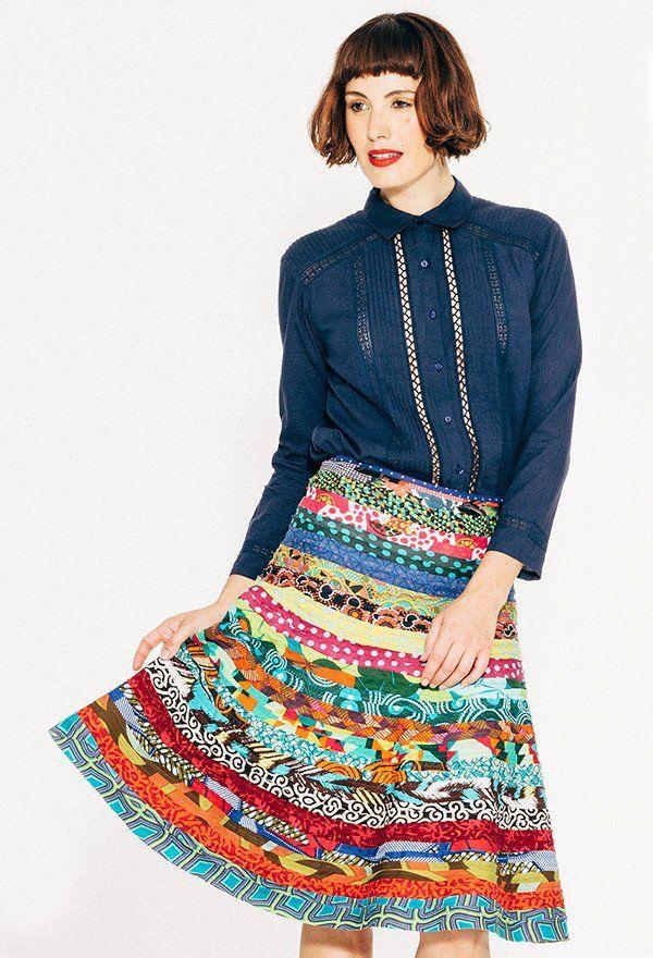 Cleo Skirt -  Multi Colour