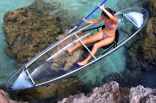 To do. Ride in a glass bottom boat.