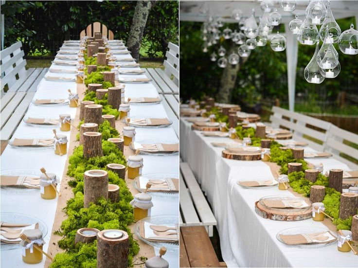 465 best decoration table images by nathalie - Deco mariage theme nature ...