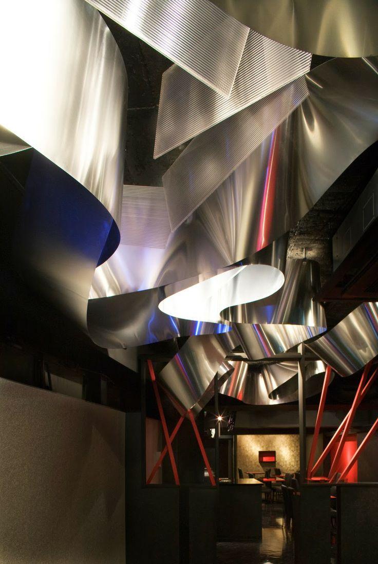 The Light Cave restaurant by Moriyuki Ochiai Architects