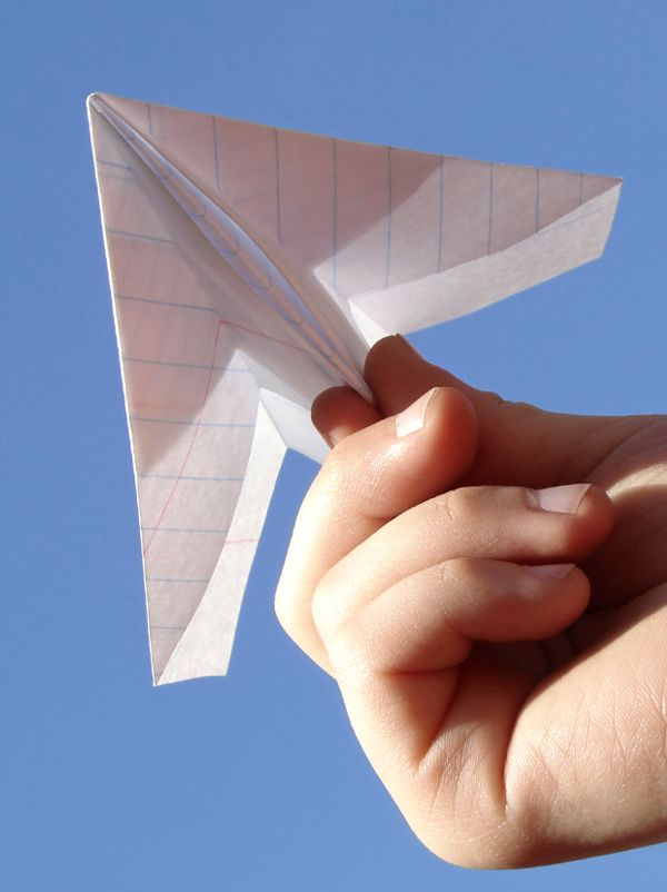 18 best origami tuto enfants images on pinterest diy origami crafts for kids and for kids - Tuto avion en papier ...