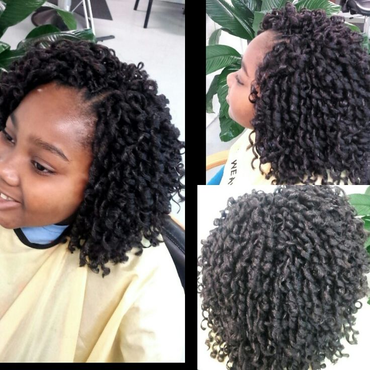 Curly Hair Crochet Styles : Short crochet braids by khadijahsdivas. great protective style