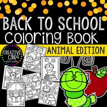 Enjoy this free Back to School Coloring Book! Print all or some of the pages for your kiddos (or even yourself if you need a stress-free coloring…