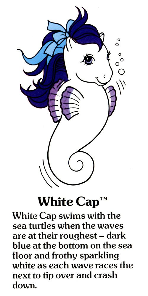 My Little Pony White Cap fact file ...