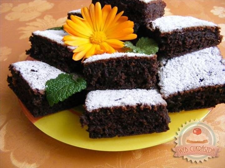 Csokipudingos kocka recept - MindenegybenBlog