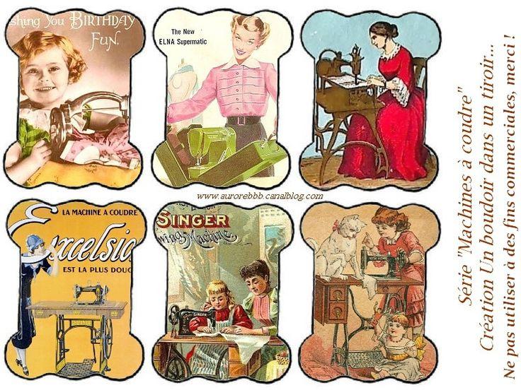 Cartonnettes pour couturières