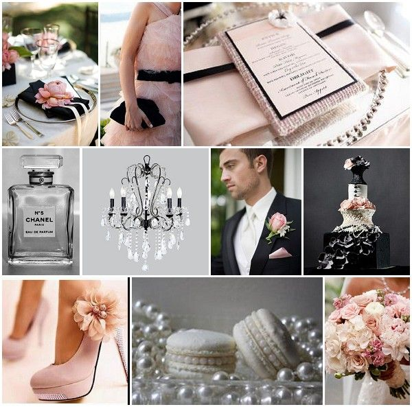 Pink isn't my color, but I love this Coco Chanel theme!