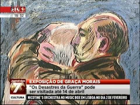 """Museu Arpad Szenes-Vieira da Silva Graça Morais expõe """"Os Desastres da Guerra"""" no Museu Arpad Szenes-Vieira..."""