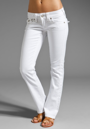 Only white jeans I'll wear....True Religion, Billy Stretch. They ...