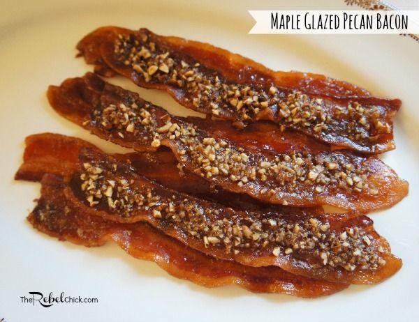 maple glazed pecan bacon recipe