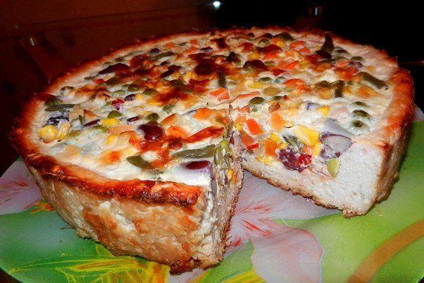 Гавайский куриный пирог / Удивительная еда!