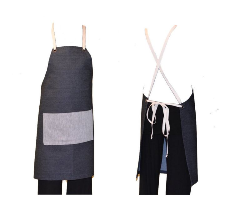 Cross over back apron, Japanese style apron, thanksgiving, crossback apron by scandaloalsole
