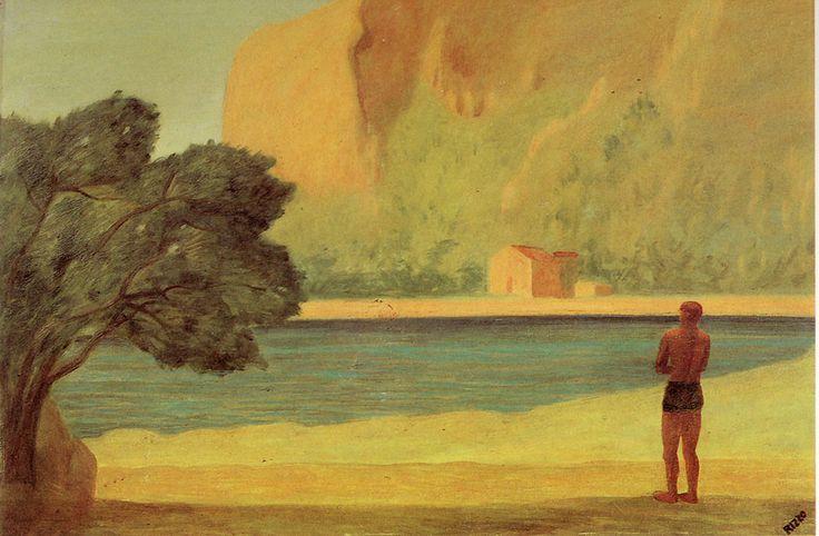 Paesaggio di Sferracavallo, 1938 by Pippo Rizzo (Italian 1897-1964)