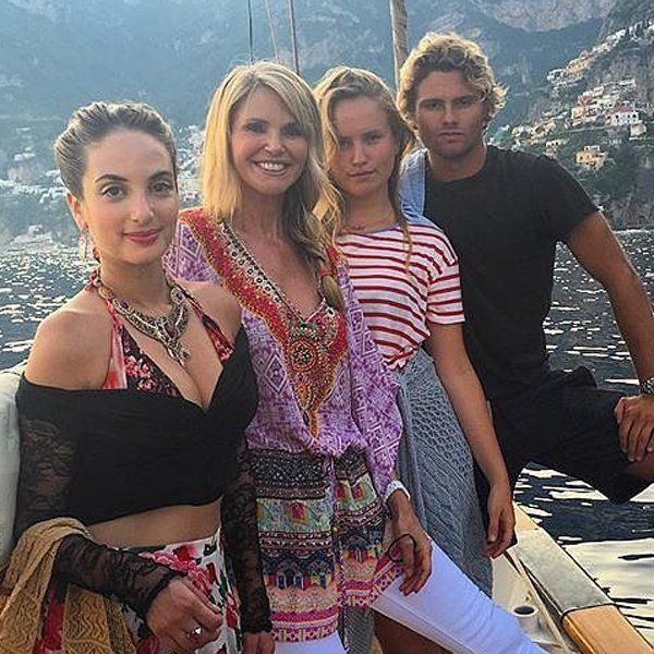 Christie Brinkley and Her Beautiful Family Have the Italian Vacation of Your Dreams