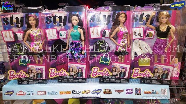 Ken Doll: Barbie Style Glam Night 2015 na Semaan Brinquedos