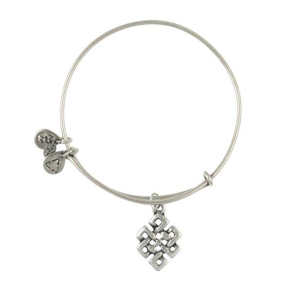 Endless Knot Charm Bracelet | (silver) Alex and Ani