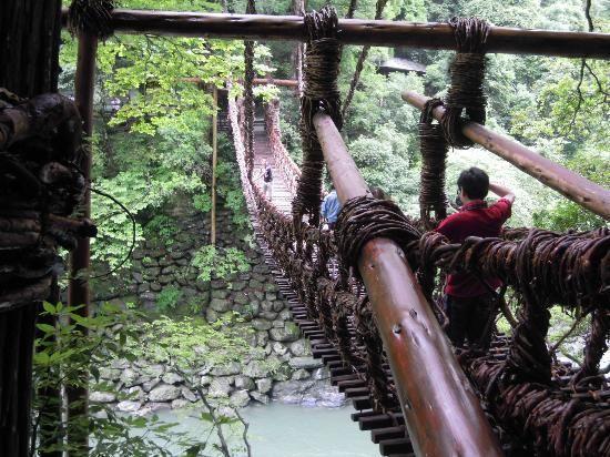 かずら橋 「死ぬまでに一度は渡りたい世界の徒歩吊り橋 10」 トリップアドバイザー