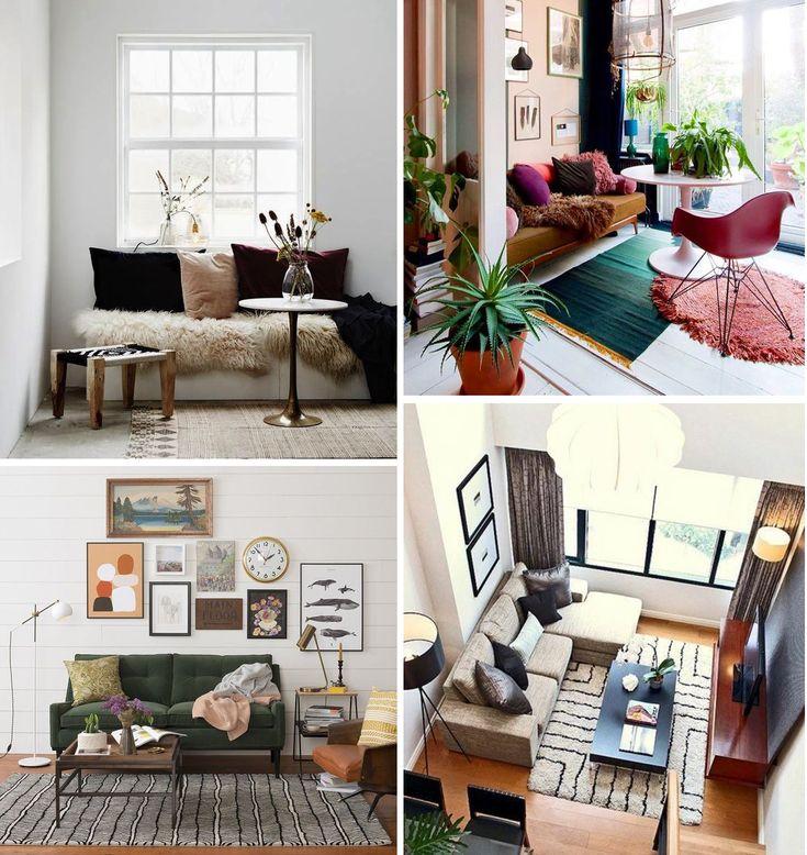 5 conseils de pro pour aménager un petit salon   Madame Décore en 2020   Aménagement petit salon ...