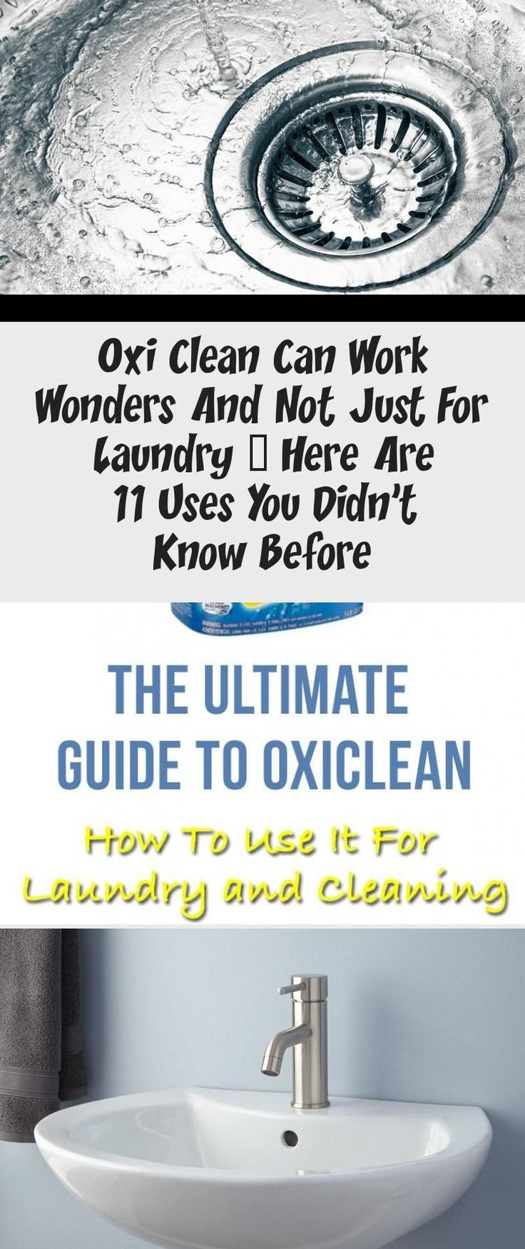 Here is the ultimate guide to oxiclean the product used